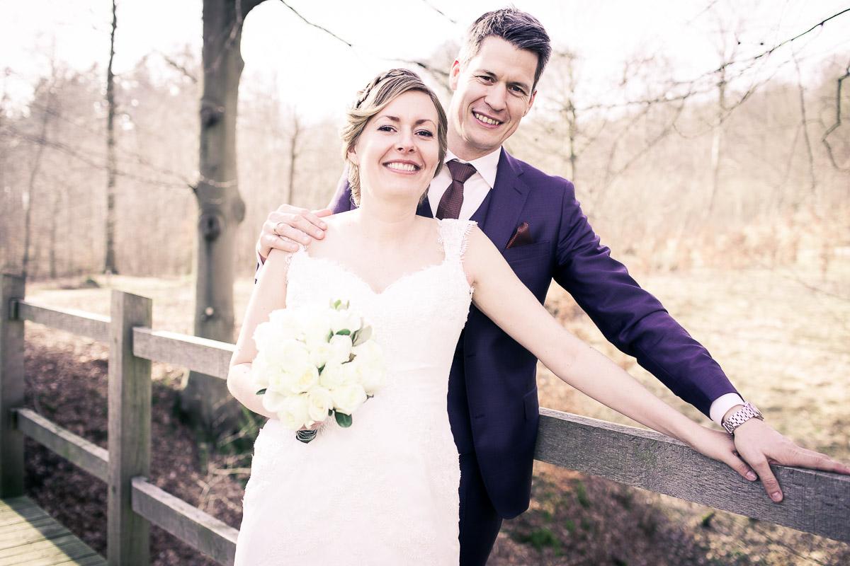 portrætfoto fra bryllup
