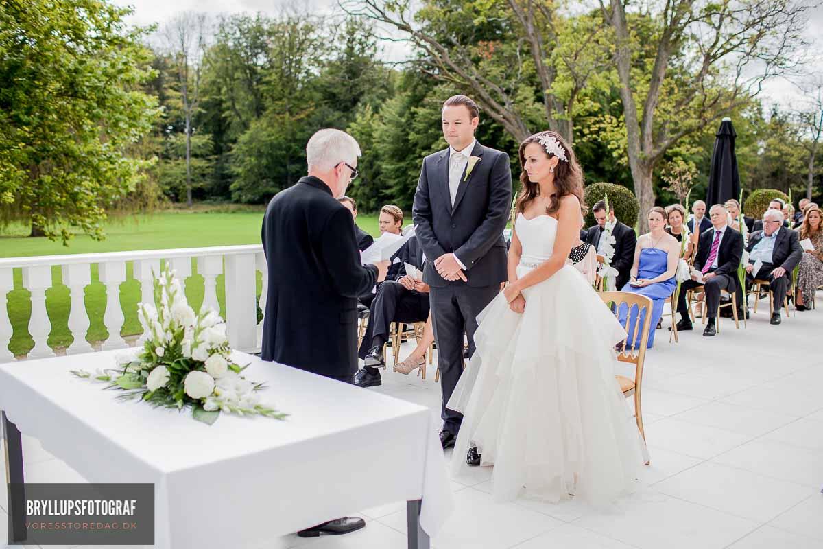 klassiske bryllupsportrætter Viborg