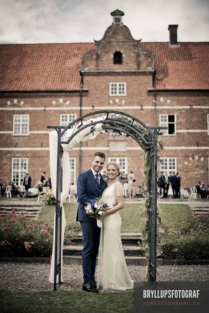 en dygtig bryllupsfotograf Viborg