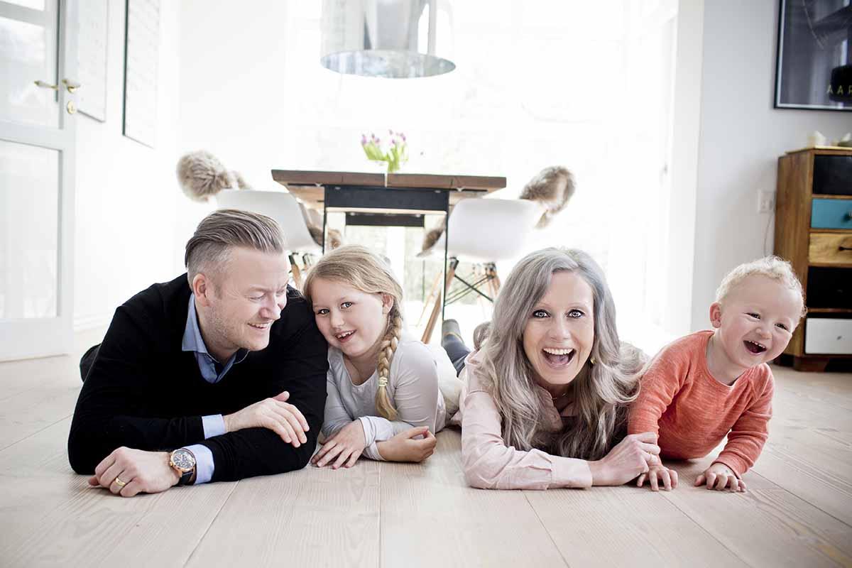 familie foto Viborg