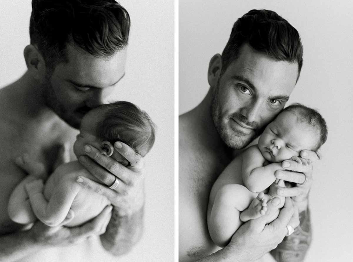 Professionel fotograf som har flere års erfaring med nyfødt fotografering